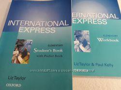 Учебник и рабочая тетрадь International Express Elementary англ. яз.