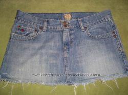 Джинсовая женская юбка