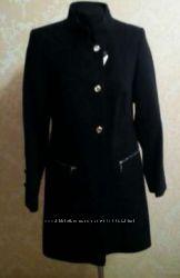 Чёрное пальто классика осень весна