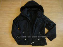 Куртка курточка парка демисезонная черная