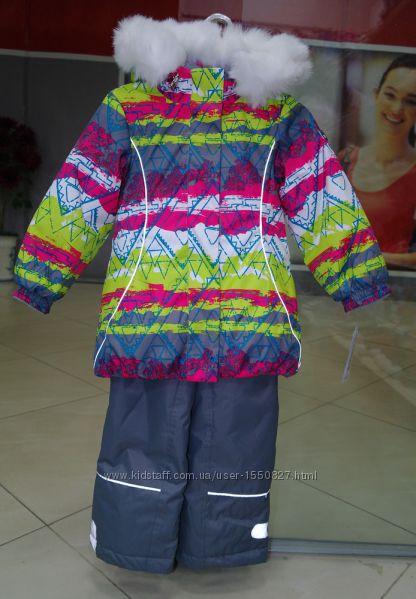 Зимний термокомбинезон на девочку 4 года
