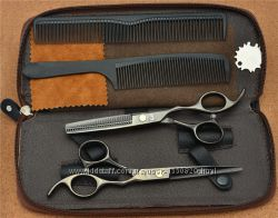Ножницы парикмахерские 6. 0 Kasho чёрный глянец