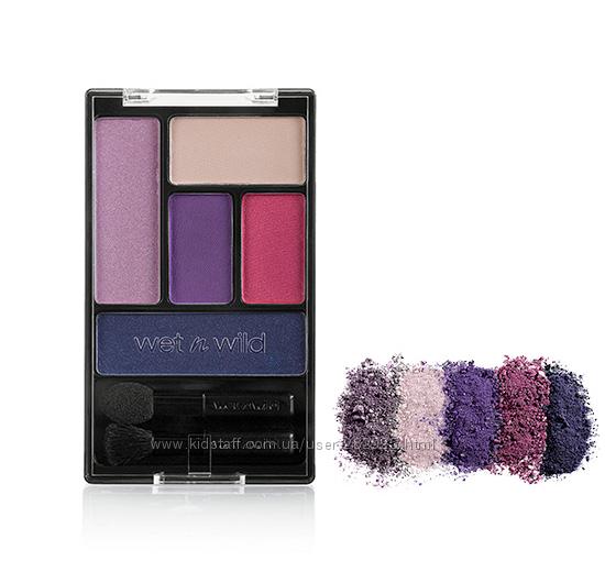 Палетка теней Wet n Wild Color Icon Eye Shadow Palette Floral Value