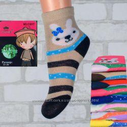 Детские носочки бамбуковые для девочек и мальчиков