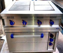 Плита электрическая 4-конф. духовка с конвекцией ABAT ЭПК-48ЖШ-К-21