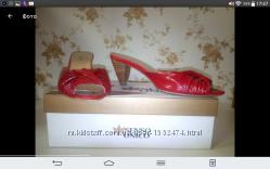 Полностью кожаны туфли без задника, шлепки, босоножки фирмы Senso Unico