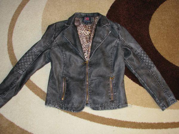 Nielsson куртка екокожа размер хл 48-50 модная