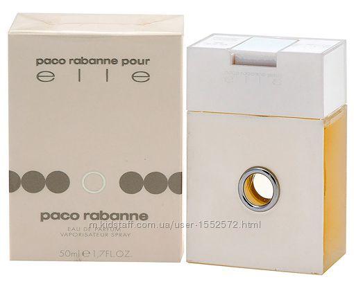 Paco Rabanne Pour Elle для женщин  Франция  Раритет Оригинал