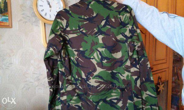 Камуфляжная рубашка 48 размер. Армия НАТО Оригинал