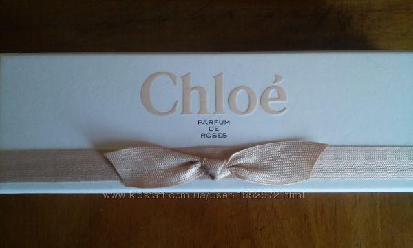 Оригинальный набор миниатюр Chloe Parfum de Roses Шикарный Новый Intense