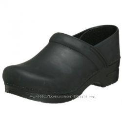 43 р. Новые кожаные туфли Dansko Professional Leather Америка. Черные