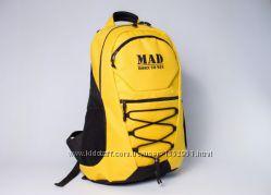 Рюкзак спортивный городской Mad Active желтый