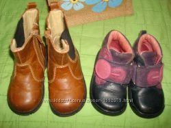 Clarks feet stret Gap фирменные ботинки кожа р 20-21
