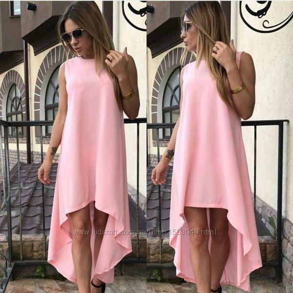 Женское свободное платье с шлейфом для беременных подойдет