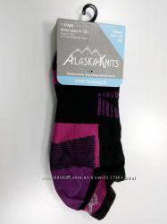 Женские короткие носочки Alaska knits, США