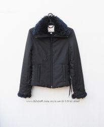 черная осенняя весенняя  короткая куртка