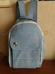 Стильный городской джинсовый рюкзак BD.