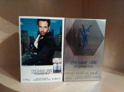 Мужской парфюм Yves Saint Laurent L&acuteHomme Libre. В наличии.