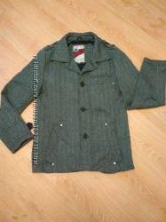 Демисезонное стильное мужское пальто