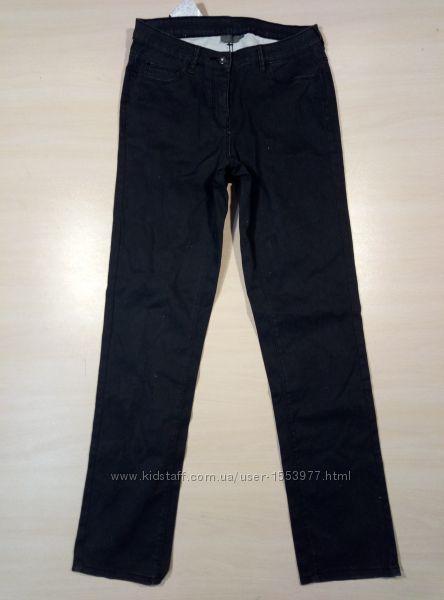 Черные джинсы женские с блеском