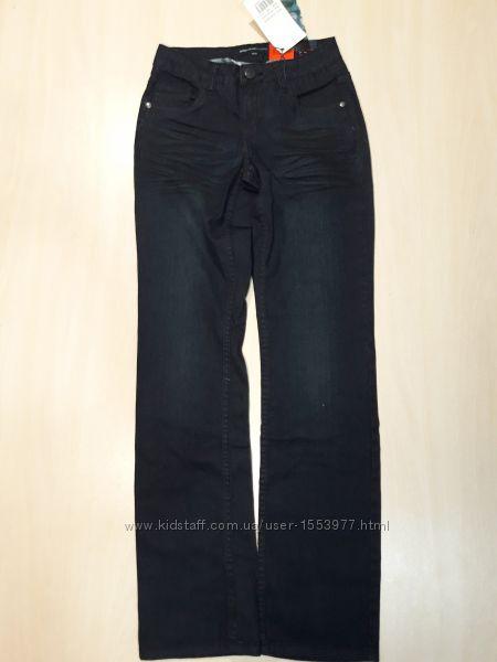 Женские тёмно-синие джинсы размер XS