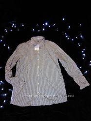 Женская рубашка в полоску размер М 17-1 О