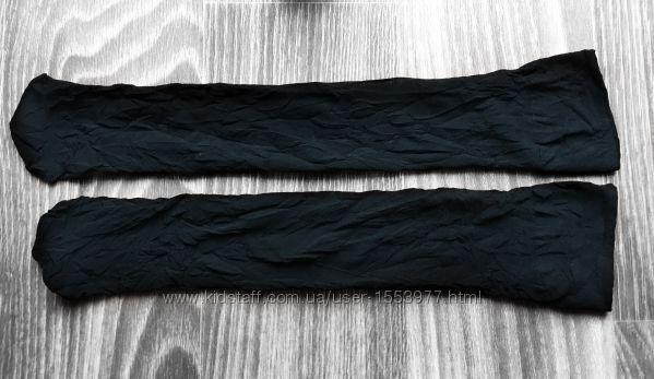 Капроновые гольфы черного цвета набор из 5 пар 20-1 M1