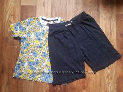Пижама для мальчика миньоны размер 134-140, &nbsp23-150 Ю
