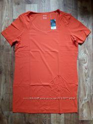 Женская туника морковного цвета размер L, 23-164 Ю