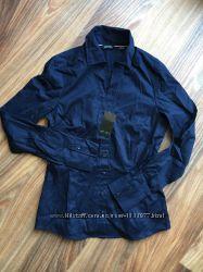 Женская темно-синяя рубашка размер евро 36, 22-14 M1