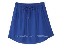 Воздушная юбка цвета электрик размер евро 38, 25-54 Ю
