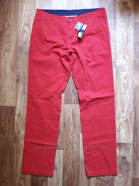 Мужские красные брюки-чинос размер 52, 22-65 Ю