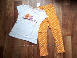 Пижама футболка и леггинсы размер 110116, &nbsp28-101 Ю