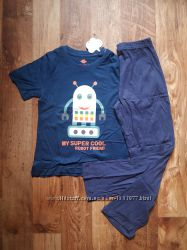 Пижама для мальчика с роботом размер 110-116, &nbsp28-127 Ю