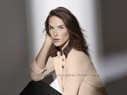 Шифоновая блуза пудрового цвета размер 38, 28-144 Ю