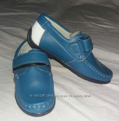 Кожаные мокасины, туфли Шалунишка 26, 28, 29, 30 размеры