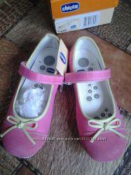 Туфли балетки  девочке     CHICCO размер 33 модель ZELDA