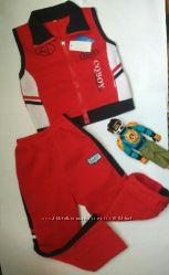Теплый спортивный костюм на 4-6 лет