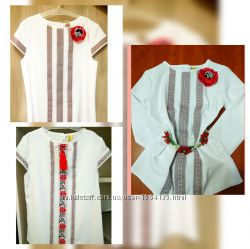 Блузки для девочек. Р. 122-164