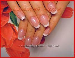 Свадебное наращивание ногтей Киев Акрил Гель Шулявская Политехнический Нивк