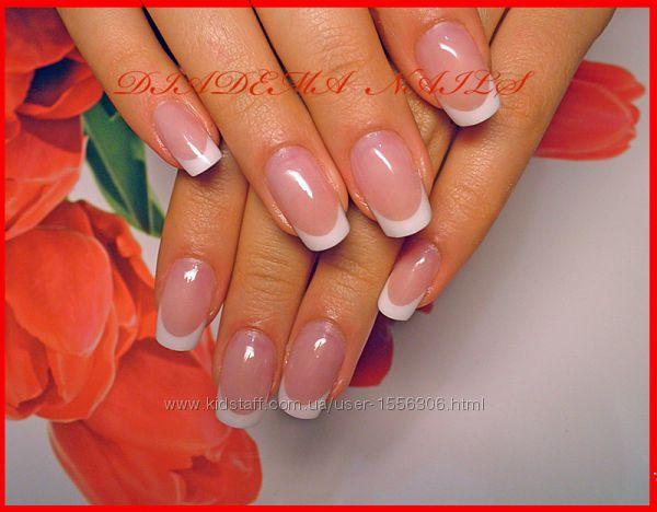 Свадебные ногти дизайн Киев Шулявская Политех Нивки маникюр коррекция гель