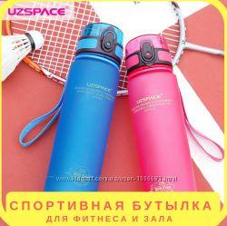 Бутылка для воды Uzspace 500 мл. Цвет Розовый