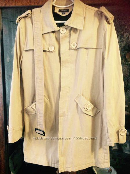 Мужское пальто, плащ Calvin Klein