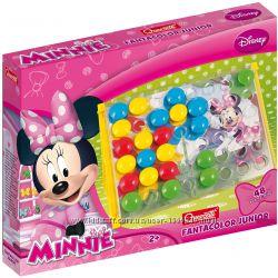 Мозаика Quercetti Disney Minnie от 2 лет 48 фишек 16 картинок