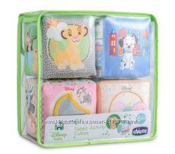Мультифункциональные тканевые кубики Disney от Chicco