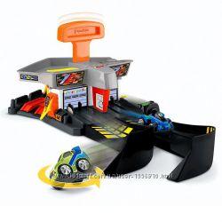 Fisher-Price Супер Трек и 2 монстр машины спецэффекты заправка гараж