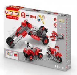 Конструктор Engino серии Pico Builds Мотоциклы 8 моделей