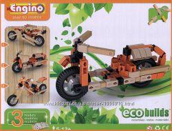 Конструктор Engino Мотоциклы Eco Builds 3 модели
