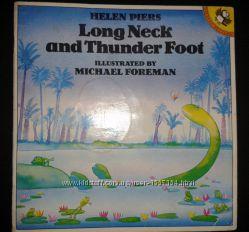 Истории для детей о динозаврах  Helen Piers. Long Neck and Thunder Foot.