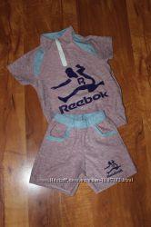 Спортивный костюм для девочки шортыфутболочка 1, 5 г. - 3 лет